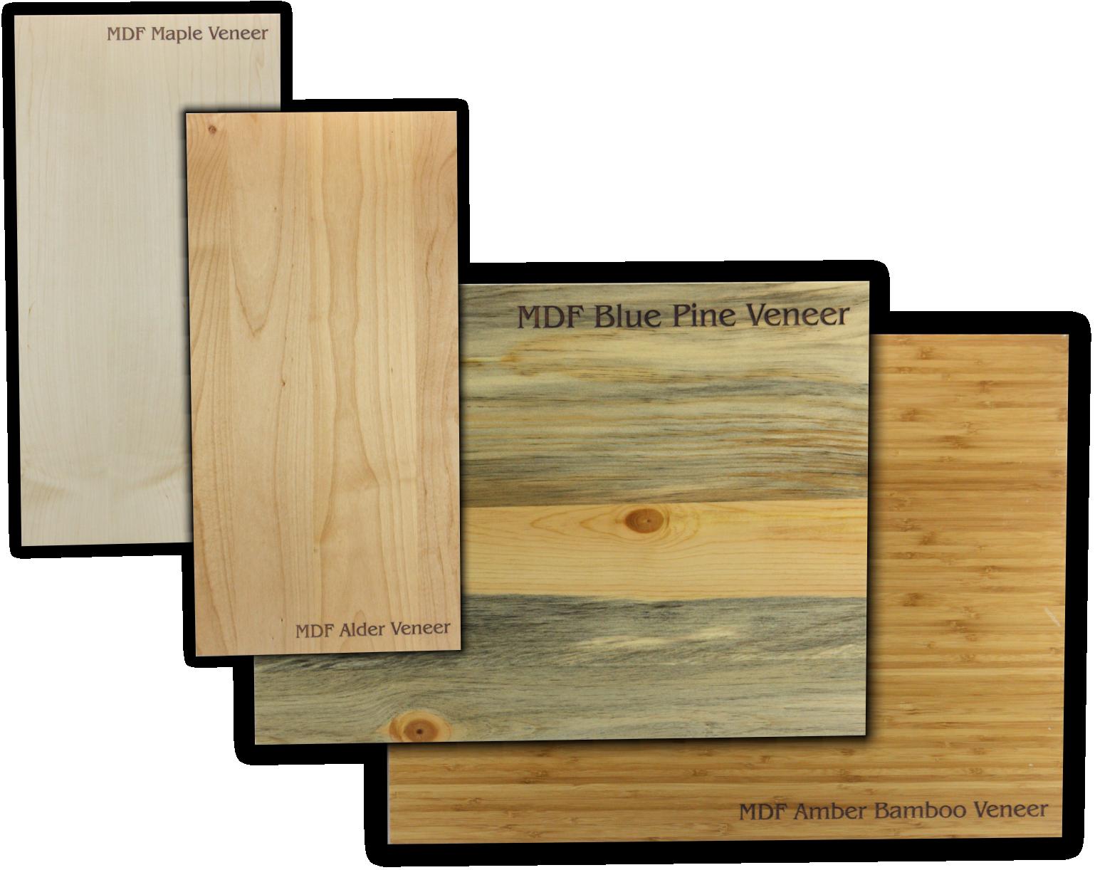 Laser wood strips from colorado heirloom