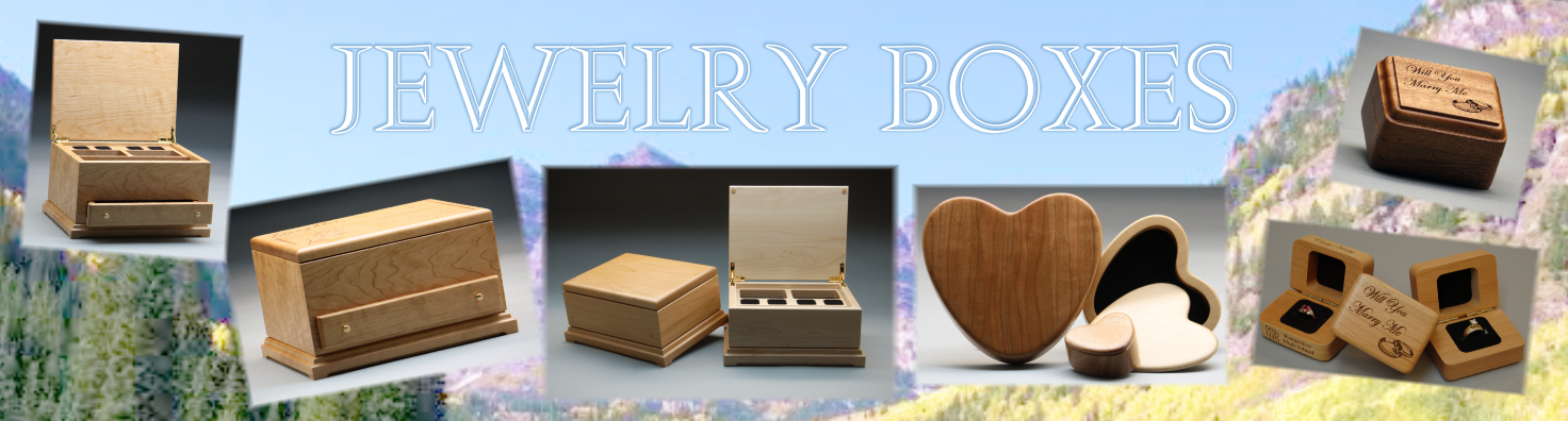 Colorado Heirloom Wood Jewelry Boxes