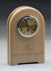 Free Standing Solid Wood Clock