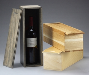 Slide Lid Single Wine Box