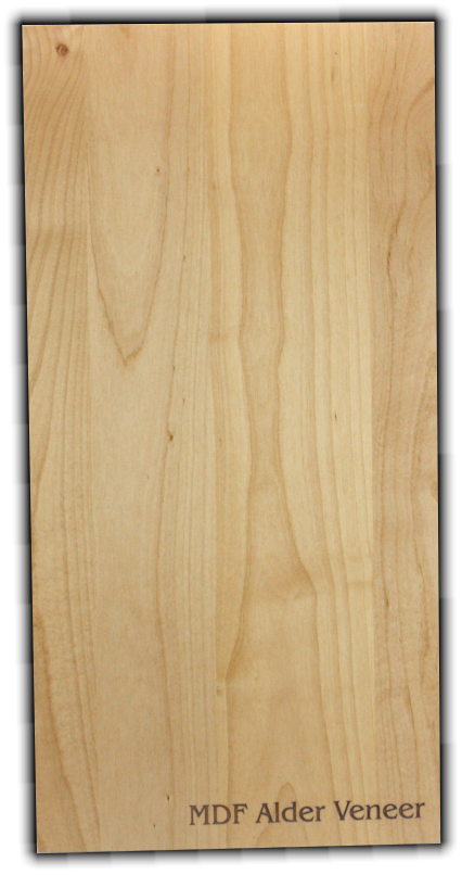 "Veneer MDF Core Wood Strip<br/>12"" x 24"" x<br/>  (5/32"" or 1/4"") - MDFV2-A-F-5/32"