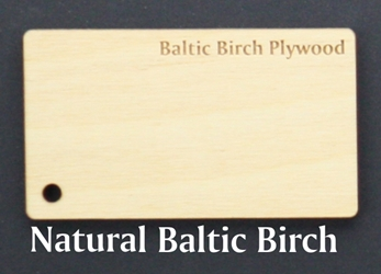 "Baltic Birch Ply or Masonite Strip<br/> 5.75"" x 15.75"" x 1/4"""