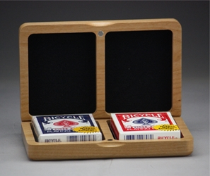 Double Deck Card Box