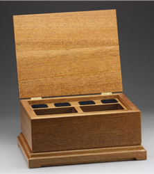 "Jewelry Box 8""x10"" with lift out tray"