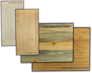 "Veneer MDF Core Wood Strip<br/> 5.75"" x 23.75"" x 1/4"""