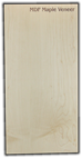 "Veneer MDF Core Wood Strip<br/> 11.75"" x 15.75"" x 5/32 - MDFV1-A-F"